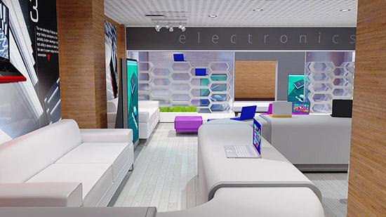 DOSCH DESIGN - DOSCH 3D: Mall & Shop Details