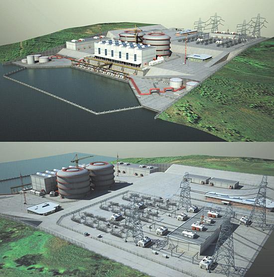DOSCH DESIGN - DOSCH 3D: Nuclear Power Plant