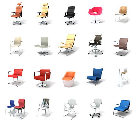 Dosch design dosch 3d office furniture for Furniture 3d design