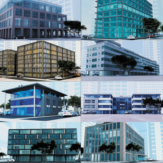 dosch design dosch 3d office buildings