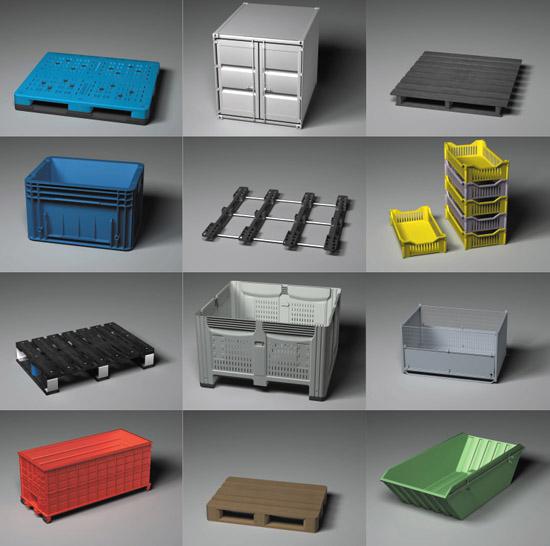 DOSCH DESIGN - DOSCH 3D: Pallets & Containers