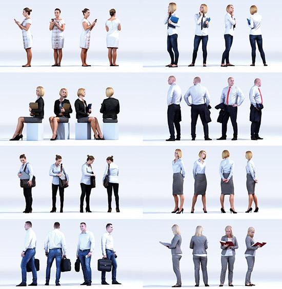 Dosch Design Dosch 3d People Business Vol 1