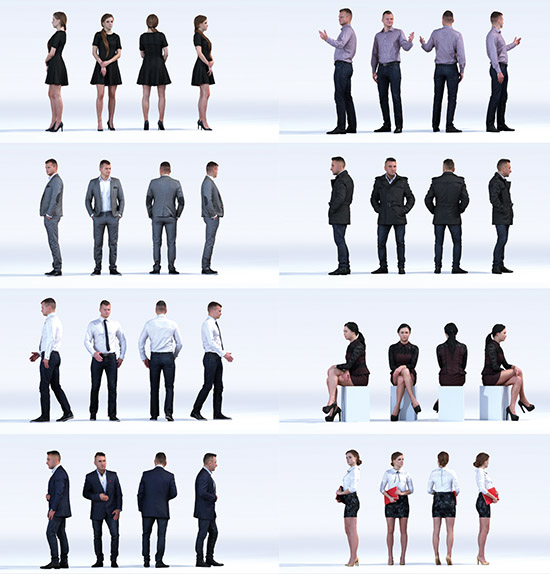 DOSCH 3D: People - Business Vol. 4sample-image