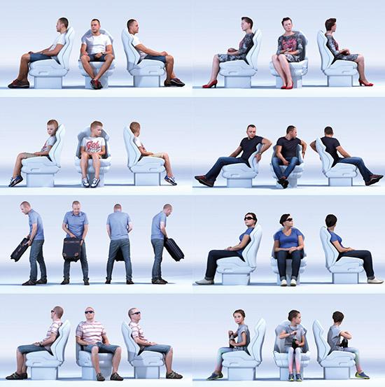DOSCH 3D: People - Passengers Vol. 1 sample-image