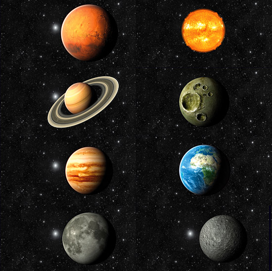 the eight planets from space - photo #15