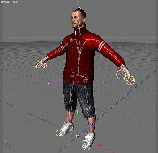 DOSCH DESIGN - DOSCH 3D: Rigged Humans for Cinema 4D
