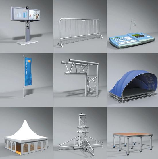 D Models Collection Exhibition Amp Event : Dosch design d stage event