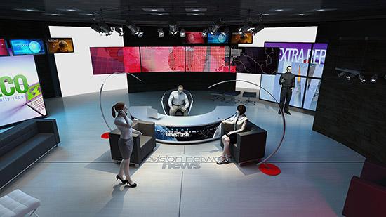 DOSCH DESIGN - DOSCH 3D: TV-Studio Details