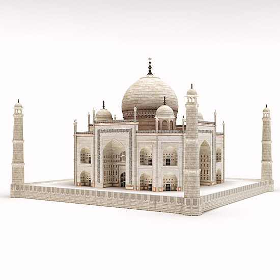 DOSCH DESIGN - DOSCH 3D: Taj Mahal