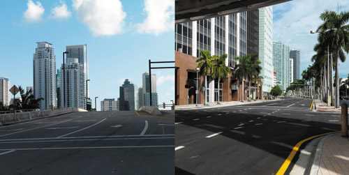 DOSCH DESIGN - DOSCH HDRI: USA City Backplates
