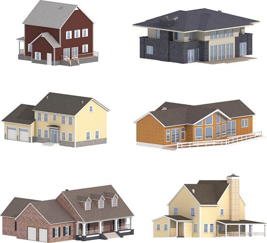 Dosch Design Dosch 2d Viz Images American Houses