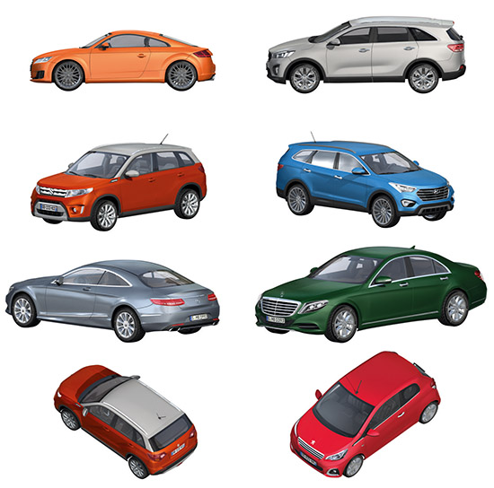 Dosch design dosch 2d viz images cars 2015