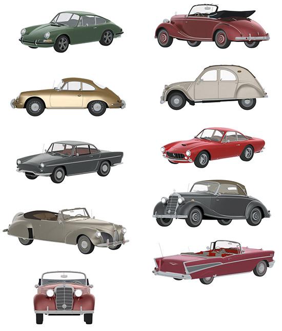 DOSCH DESIGN - DOSCH 2D Viz-Images: Classic Cars V1 1