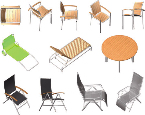 how to put furniture in photoshop