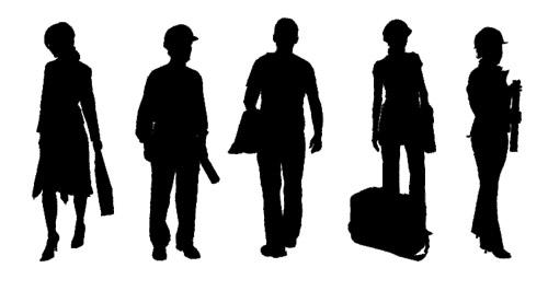 dosch design dosch 2d vizimages people silhouettes