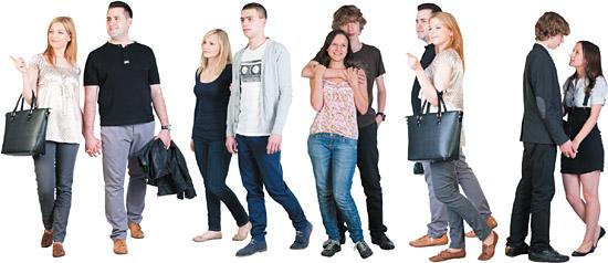 dosch design dosch 2d viz images people couples