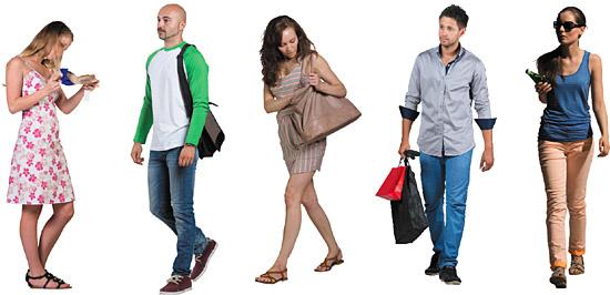 dosch design dosch 2d viz images people leisure time