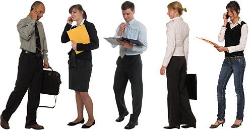 DOSCH DESIGN - DOSCH 2D Viz-Images: People - Office