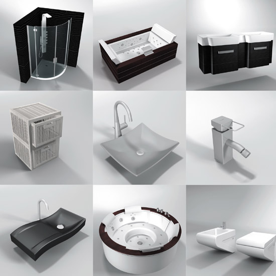 Dosch design dosch 3d stylish bathroom design v1 1 for Bathroom design online 3d
