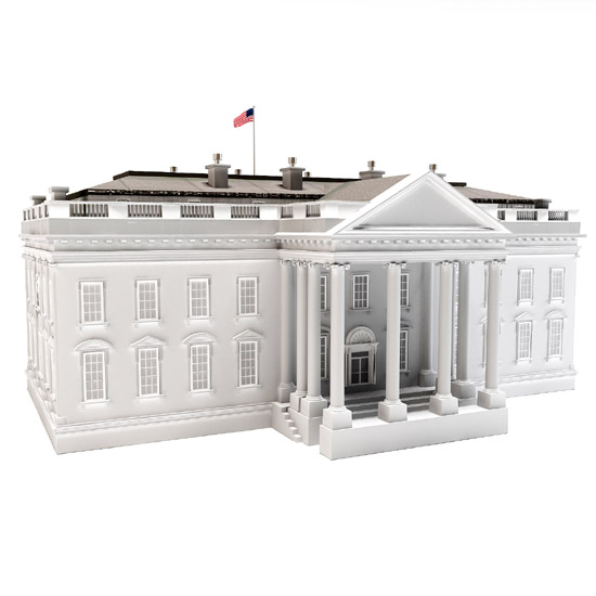 Dosch design dosch 3d white house for House designs 3d model