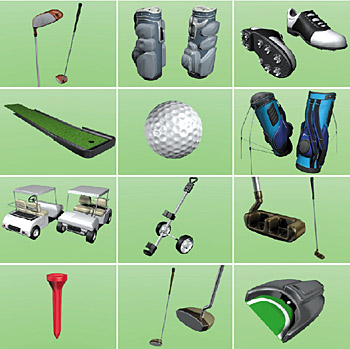 Image result for golf equipment