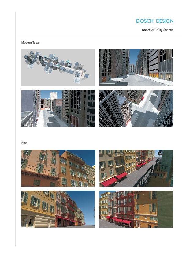 DOSCH DESIGN - DOSCH 3D: City Scenes