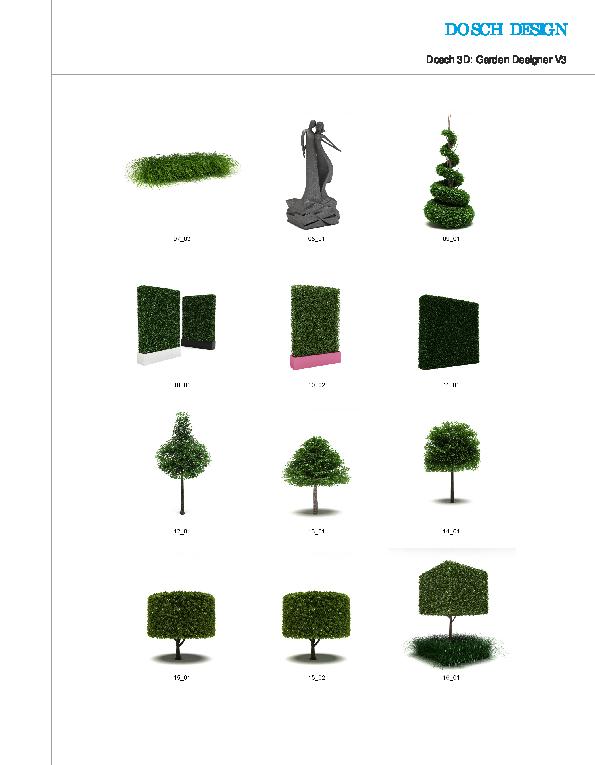 DOSCH 3D: Garden Designer V3