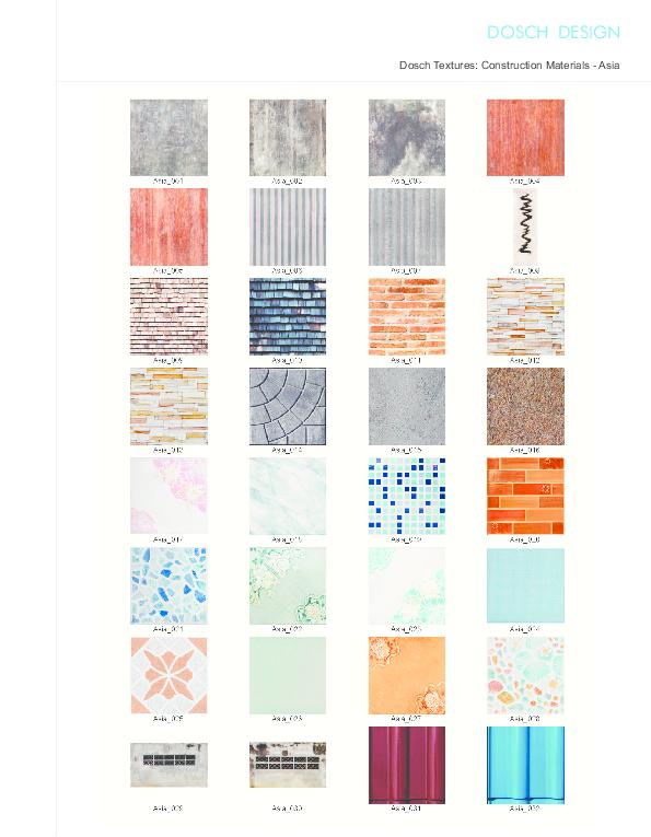 Interior Design Materials List