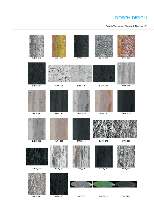 DOSCH DESIGN - DOSCH Textures: Plants & Nature V2