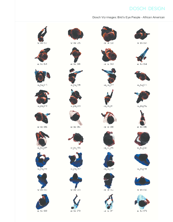 DOSCH DESIGN - DOSCH 2D Viz-Images: Bird's Eye People ...