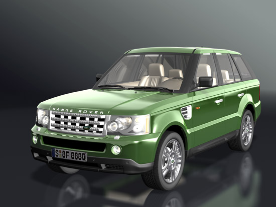 15 very detailed and completely textured 3D-models of highly realistic cars.